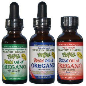 Wild Grown Oregano Oils