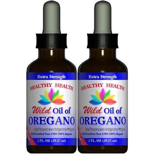 wild oregano oil extra strength 2 bottles