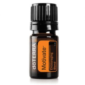 5ml bottle of Motivate Essential Oil Blend