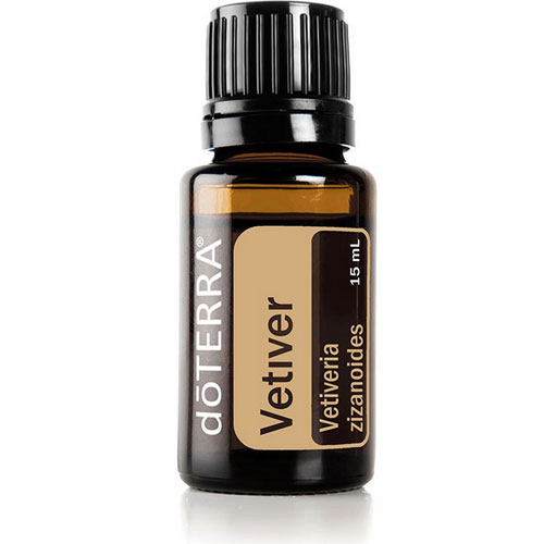 15ml bottle of Vetiver Essential Oil