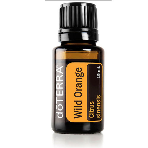 15ml bottle of Wild Orange Essential Oil
