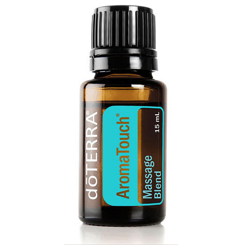 15ml bottle of Aromatouch Essential Oil Massage Blend