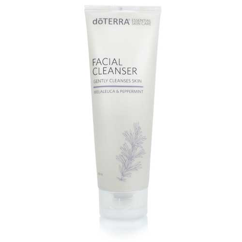 melaleuca and peppermint facial cleanser